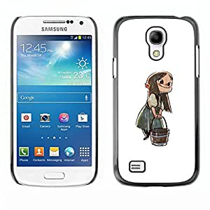 All Phone Most Case / Hard PC Metal piece Shell Slim Cover Protective Case Carcasa Funda Caso de protección para Samsung Galaxy S4 Mini i9190 MINI VERSION! Anime Girl Cartoon Fairy Tale Chara