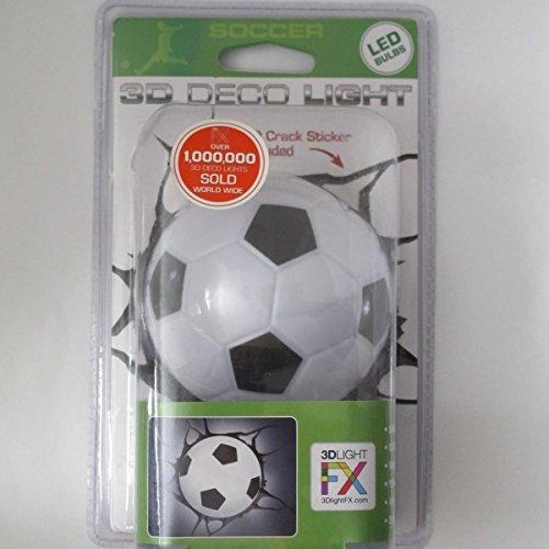 3d Deco Night Light Soccer Ball Mini by 3d light fx