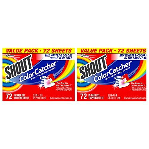 Shout Color Catcher 72 Ct, 2 Un