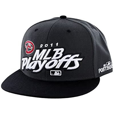 Arizona Diamondbacks 2011 Locker Room Champs Plastic Snapback Adjustable Plastic Snap Back Hat / Cap
