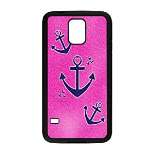 Unique Phone Case Pattern 1Retro Vintage Anchor Pattern- For Samsung Galaxy S5