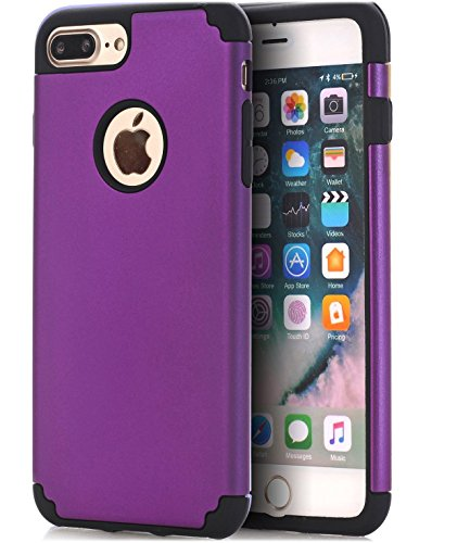 iPhone 7 Plus Case,iPhone 8 Plus Case,CaseHQ Extreme Heavy Duty Protective soft rubber TPU PC Bumper Case Anti-Scratch Shockproof Rugged Protection Cover for apple iPhone 7/8 Plus phone - Shop Spy Alabama