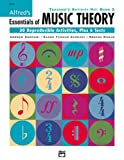 Alfred's Essentials of Music Theory, Morton Manus and Andrew Surmani, 0739027336