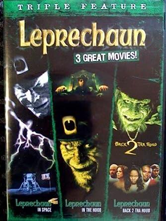 Amazon Com Leprechaun Triple Feature Leprechaun 4 In Space