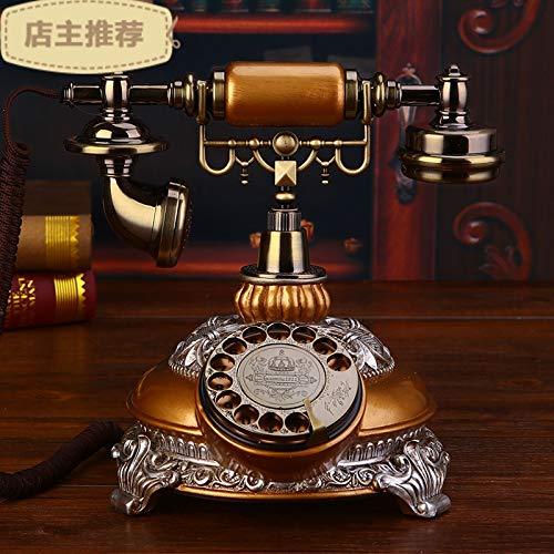 Telefono Fijo Vintageteléfono Europeo Máquina De Base De ...