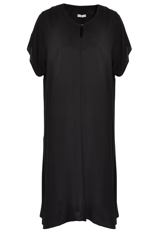 Yoek Womens Plus Size Short Sleeve Dress Long Maxi