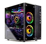 SkyTech Legacy II - Gaming Computer PC Desktop - Intel i7-9700K 8-Core 3.6 GHz, 240mm RGB Liquid Cool, NVIDIA GeForce RTX 2070 8GB, 1TB SSD, 16GB DDR4, AC WiFi, Windows 10 Home 64-bit