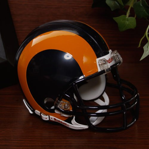 St. Louis Rams 81-99 Riddell VSR4 Mini Replica Football Helmet (St Louis Rams Replica Helmet)