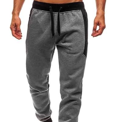 Pantalones de chándal de Seguridad para Hombre, con Rayas Gris ...