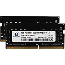 "Adamanta 16GB (2x8GB) Memory Upgrade for 2017 Apple iMac 27"" Retina 5K Display DDR4 2400Mhz PC4-19200 SODIMM 1Rx8 CL17 1.2v Single Rank RAM DRAM"