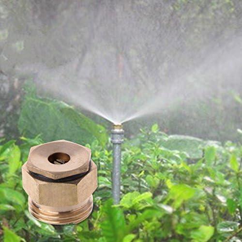 """Cuigu 1/2"""" Düsenspray, Messing zentrifugal einstellbar Sprinkle Spray Mikro Düse für Garten Bewässerung"""