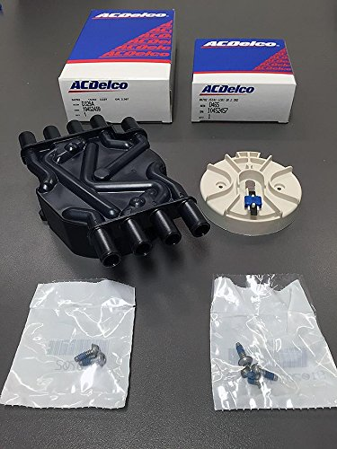 AcDelco GM Distributor Cap (D329A) And Rotor (D465) Kit (V8 Distributor Rotor)