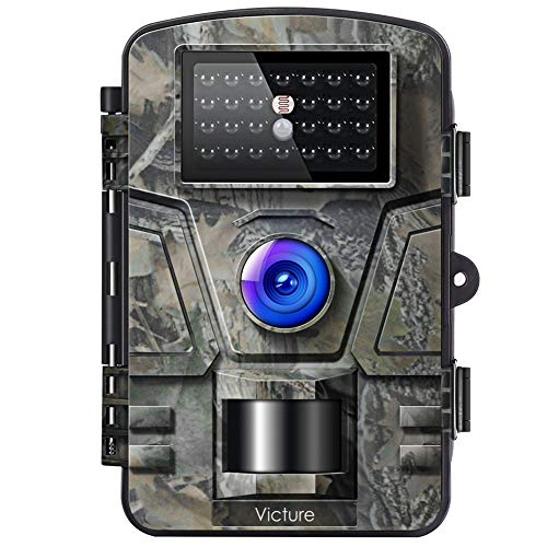 Victure Trail Game Camera with Night Vision Motion Activated 1080P 12MP Hunting Trap Cameras with...