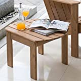 Cambridge-Casual AMZ-180035T Arie Adirondack Side Table, Teak