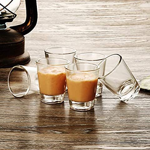 1.5 oz Shot Glasses Sets with Heavy Base, Clear Shot Glass