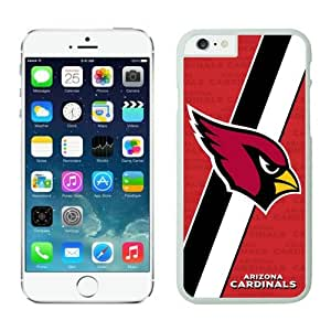 Arizona Cardinals Case For iPhone 6 White 4.7 inches