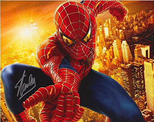 STAN LEE (Spiderman) signed 8X10 photo from Authentic Autographs