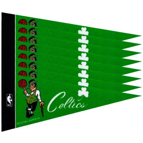 Rico Boston Celtics NBA Mini Pennant Set (8) - Nba Mini Pennant Set
