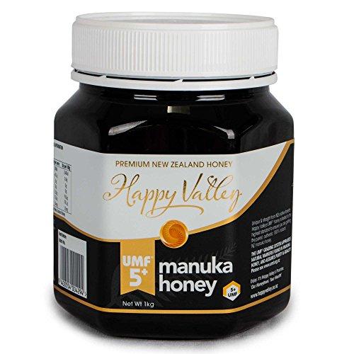 Active 5+ Manuka Honey (Happy Valley UMF 5+ Manuka Honey, 1kg (35oz))