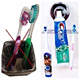 Toothbrush Holder suction cup mirror OR wall mount - Best Reviews Guide