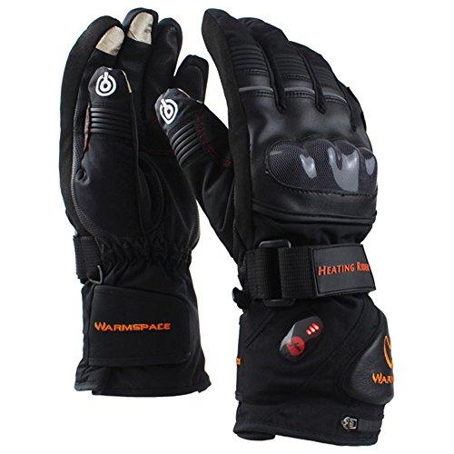 Heated Waterproof Motorcycle Gloves - 9