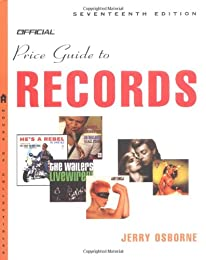 The Official Price Guide to Records 18th Edition (Official Price Guide to Records)