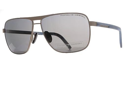 Amazon.com: Porsche Design anteojos de sol p8639 B pistola ...