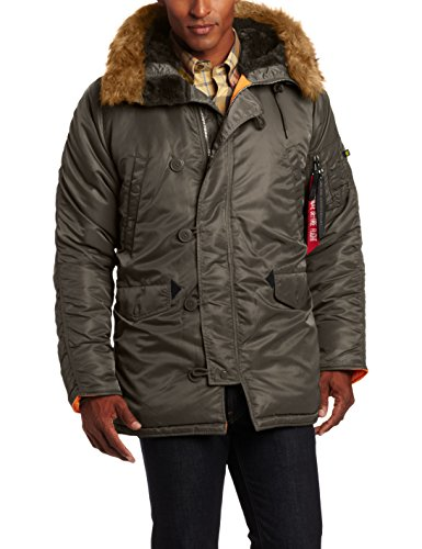 Alpha-Industries-Mens-N-3B-Slim-Fit-Parka-Coat-with-Removable-Faux-Fur-Hood-Trim