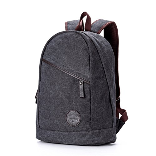 Casual lona bandolera/Bolsa de viaje/Mochila para computadora/Moda mochilas-A A