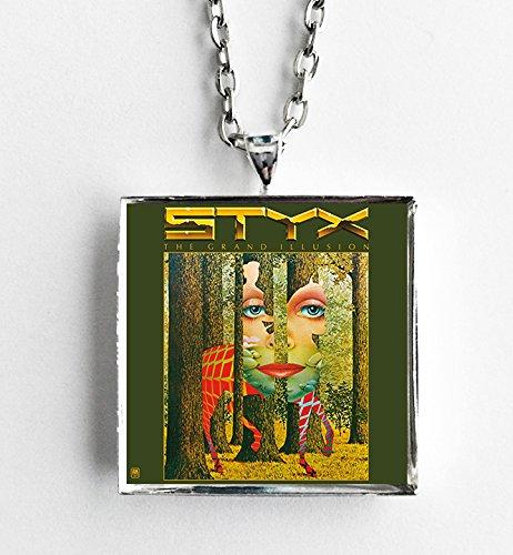 Album Cover Art Necklace - Styx - The Grand Illusion