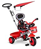 Product icon of Schwinn Easy Steer 4 in 1 Tricycle, Red