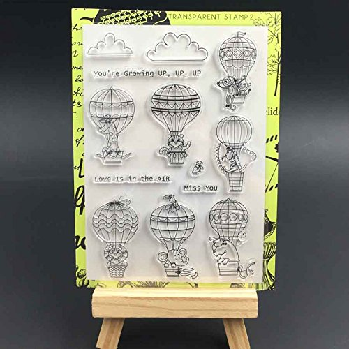 hot air balloon stamp - 3
