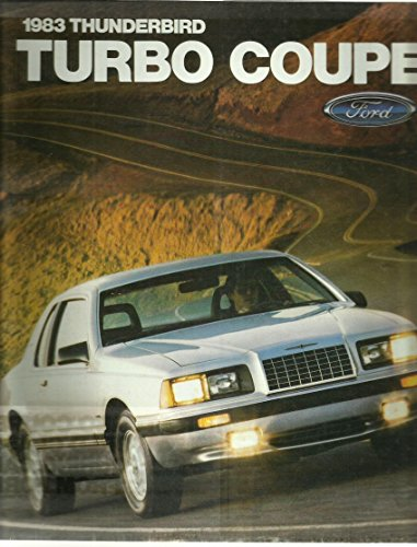 (1983 Thunderbird Turbo Coupe (Ford Book Ad))