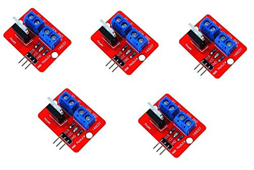 Infrared Adapter Driver (WINGONEER 5Pcs IRF520 MOSFET Driver Module)