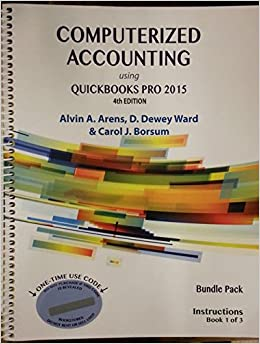 Bundle pack containing computerized accounting using quickbooks pro bundle pack containing computerized accounting using quickbooks pro 2015 4th edition and systems understanding aid 9th edition alvin a arens fandeluxe Image collections