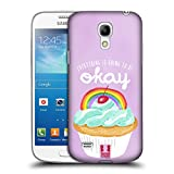 Head Case Designs Rainbow Cupcake Happiness Hard Back Case for Samsung Galaxy S4 mini I9190