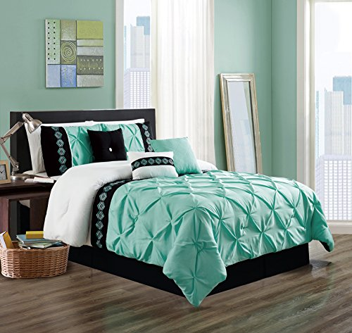 blue and coral comforter - 3