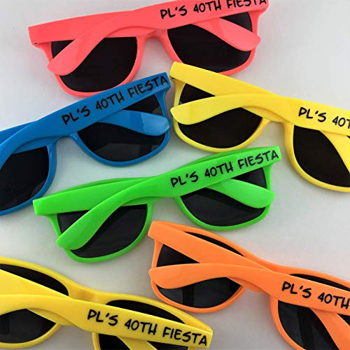 100 Personalized Sunglasses - Adult Size
