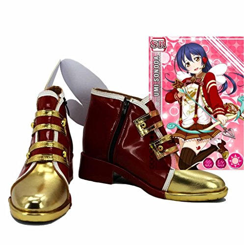 ama Vive! Love Live Happy Valentines Day Chocolate Sonoda Umi Cosplay Zapatos Botas Por Encargo