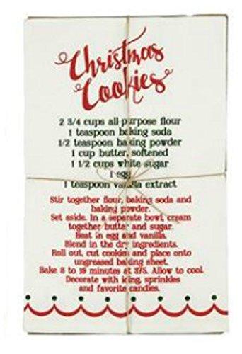 MUD PIE CHRISTMAS COOKIES RECIPE TOWEL (Recipe Towel)