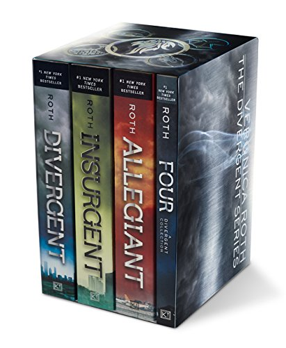 (Divergent Series Four-Book Paperback Box Set: Divergent, Insurgent, Allegiant, Four)