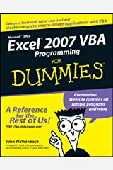 Excel 2007 VBA Programming For Dummies Kindle Edition