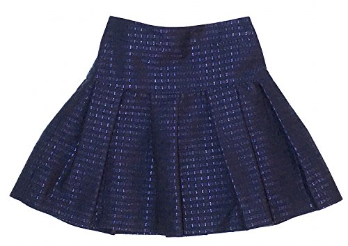 Price comparison product image Tartine et Chocolat Little Girls Navy Marine Printed Pleated Skirt Size 3T