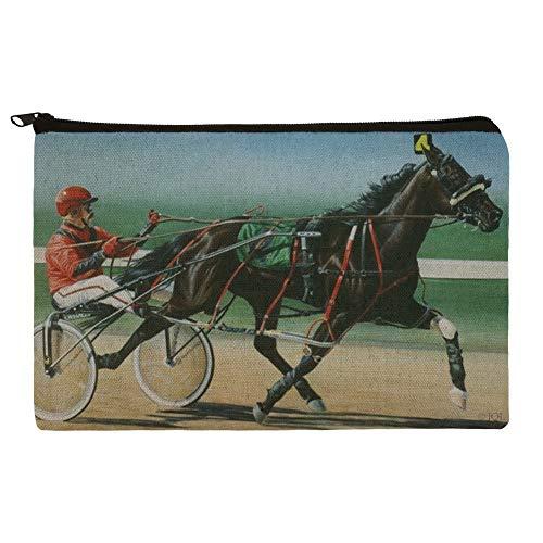 Harness Racing Horse Sulky Trotter Pencil Pen Organizer Zipper Pouch Case -  GRAPHICS & MORE, PCH.PEN.QQJQLMG00.Z001443_8