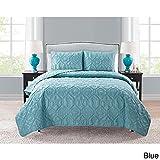 quilt clearance - VCNY Shore 3-piece Quilt Set Blue King