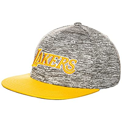 adidas Originals Mens Lakers NBA Snapback Cap - OSFM from adidas