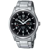 Best Seiko Watches automatic watch - Seiko Men's 5 Automatic SNZG13K Black Stainless-Steel Automatic Review