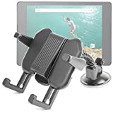 DURAGADGET Google Nexus 9 Mount (Released 2014) - Adjustable & Ultra-Portable Carry Tray with Suction Mount for NEW Google Nexus 9