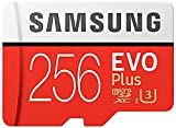 Samsung 256GB EVO Plus Class 10 UHS-I microSDXC U3 with Adapter (MB-MC256GA/EU) Read:up to 100MB/s,Write:up to 90MB/s ! image
