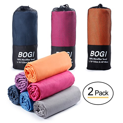 BOGI Microfiber Travel Sports Towel product image